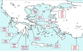 Map Of Ancient Greece And The Aegean World by Home Homer U0027s Iliad Libguides At New St Andrews College