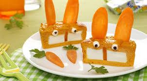 cuisine au fromage flans carottes au fromage kiri les lapins kiri les bonnes