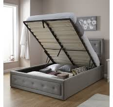 Grey Fabric Ottoman Bed Fabric Beds U2013 Make A Statement With An Elegant Upholstered Bed Frame
