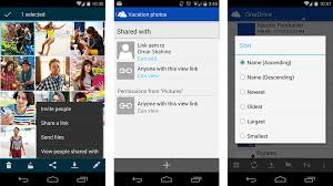 onedrive app for android microsoft updates onedrive for android with pull to refresh