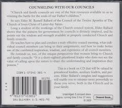 Counseling With Our Councils Revised Edition Counseling With Our Councils M Ballard 9781573453851