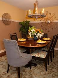 two tone paint dining room warm amazing home design interior