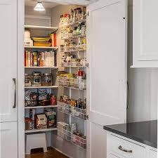 Kitchen Pantry Design Ideas by White And Gray Kitchen Pantry Design Design Ideas