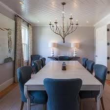 Gray Dining Room Ideas Tray Shiplap Dining Room Ceiling Design Ideas