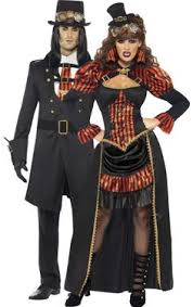 Halloween Steampunk Costumes Matching Halloween Costumes Couples Common Theme