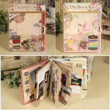 scrapbook album kits online shop eno greeting creative chipboard travel scrapbook