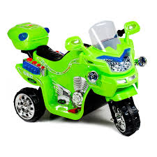 green dirt bike boots ride on toy 3 wheel motorcycle for kids battery powered ride on