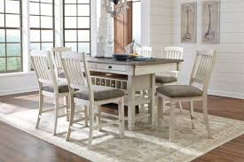dining room pub tables bolanburg counter height pub table
