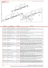 massey ferguson rear linkage page 320 sparex parts lists