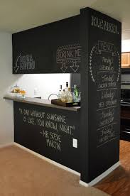 chalkboard paint ideas kitchen 25 stylish accent walls you can create on your own