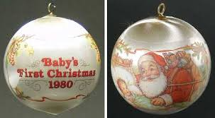 Christmas Ornaments Baby Hallmark 1980 Hallmark Christmas Ornaments At Replacements Ltd