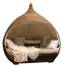 Outdoor Lounge Chair With Canopy Rattan Round Outdoor Lounge Bed With Canopy Rattan Round Outdoor
