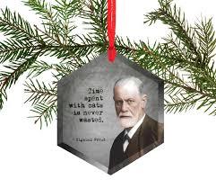 amazon com sigmund freud famous scientists glass christmas