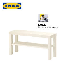 ikea lack scandinavian style tv stand bench cabinet console