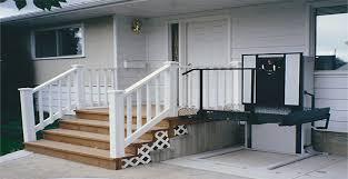 braun uvl wheelchair lift confidential wheelchair porch lifts