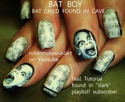 halloween nails robin moses nail art