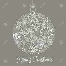 grey and white christmas ball illustration royalty free cliparts
