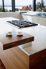 Sharp Contrast Defines The Kitchen 1133 Best Kitchens Images On Pinterest Kitchen Modern Kitchens