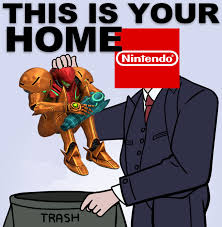 Samus Meme - and accurate depiction of the current state of the metroid ip sad