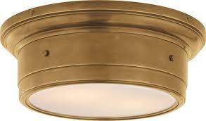 Brass Ceiling Light Lighting Design Ideas Vintage Antique Brass Flush Mount Ceiling