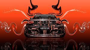 orange jeep grand cherokee monster energy jeep grand cherokee srt8 super plastic car 2015