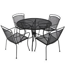 small wrought iron table new black wrought iron patio furniture gccourt house for cushions