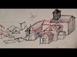 pen and ink drawing tutorials how to draw a house youtube