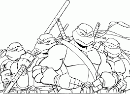 ninja turtles coloring pages free printable coloring home