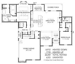 european style house plan 3 beds 3 00 baths 2649 sq ft plan 424 249