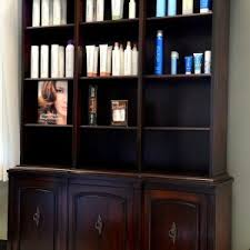 cabinet best dark wood china cabinets and hutches with glass door