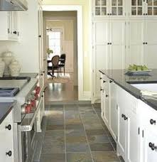 Kitchen Tile Flooring Ideas by Slate Floor Keeping That Same Tile In The Bathroom Just Smaller