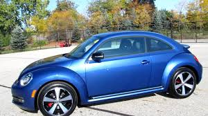 volkswagen bug 2012 2012 volkswagen beetle turbo reef blue youtube