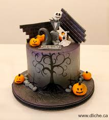 Halloween Cake Decoration by