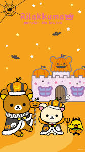 kawaii halloween phone background 38 best rilakkuma images on pinterest kawaii wallpaper