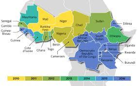 africa map 2014 path meningitis vaccine project map of africa s meningitis belt