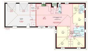 plan maison plain pied en l 4 chambres maisons plain pied 4 chambres de 120 m construite par demeures