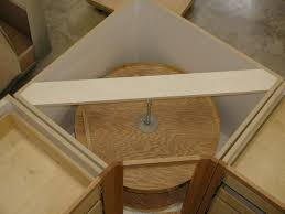 how to build an corner cabinet attaching frames to corner cabinets