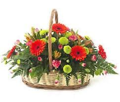 basket arrangements basket arrangements flowers4uk