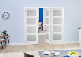 Room Divider Door - contemporary white 4l frenchfold room divider doors climadoor