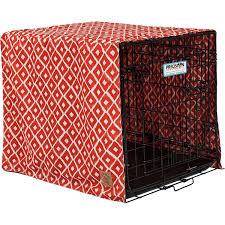 amazon com precision pet snoozzy ikat crate cover gray pet