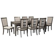 signature design by ashley chadoni 9 piece contemporary