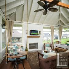 screened in porch with fireplace fireplace ideas