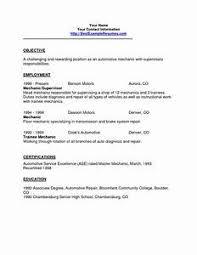 free resume exle automotive technician resume exles pointrobertsvacationrentals