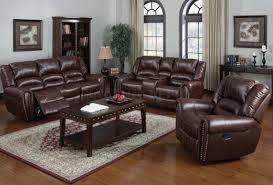 Black Recliner Sofa Set Sofa Reclining Leather Sofa Sets Intrigue Recliner Leather Sofa
