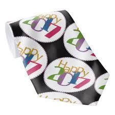 new years tie 2017 ties zazzle