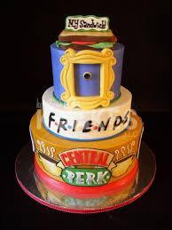 Meme Birthday Cake - friends tv show cake my favorite cakes iced in buttercream cakepins