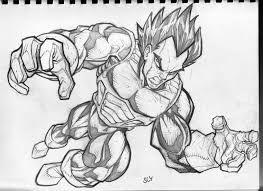 draw dragon ball kai characters japanese themed party