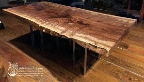 live edge round table brilliant custom dining room tables live natural edge wood slabs