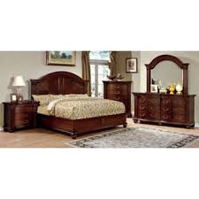 cherry finish bedroom sets for less overstock com