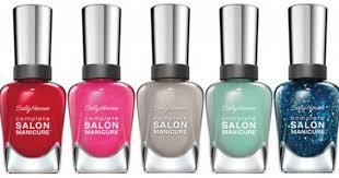 target sally hansen complete salon manicure polish only 1 27